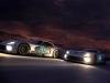 (L to R) SRT Motorsports Viper GTS-R #93 driven by Kuno Wittmer, Jonathan Bomarito, and Tommy Kendall and SRT Motorsports Viper GTS-R #91 driven by Dominik Farnbacher, Marc Goossens, and Ryan Dalziel