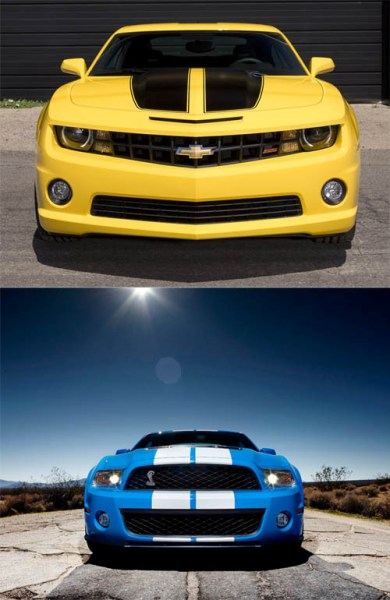 Camaro outsells Mustang copy