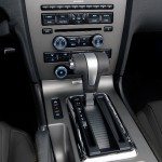 The centerstack and console are home to audio system and HVAC controls