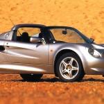 1998 Lotus Elise f3q
