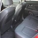 2011 Kia Sportage rear seats