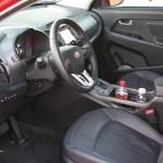 2011 Kia Sportage front seats