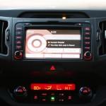 2011 Kia Sportage navigation