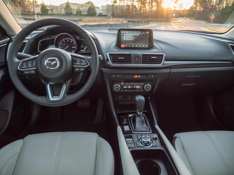2018 Mazda3 GT 5-door interior