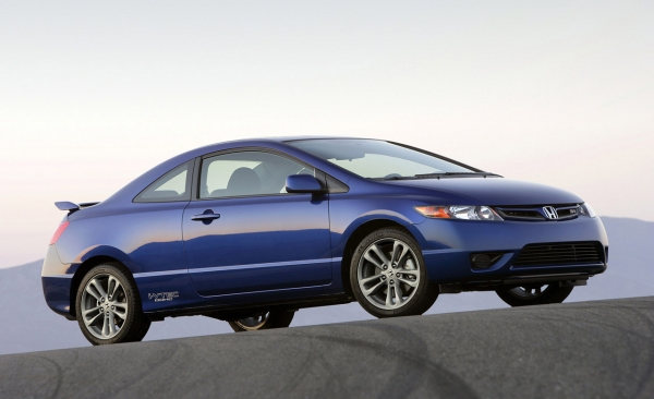 Honda Civic Si Coupe/Sedan: Priced at a meager 21110 (coupe) and 21310
