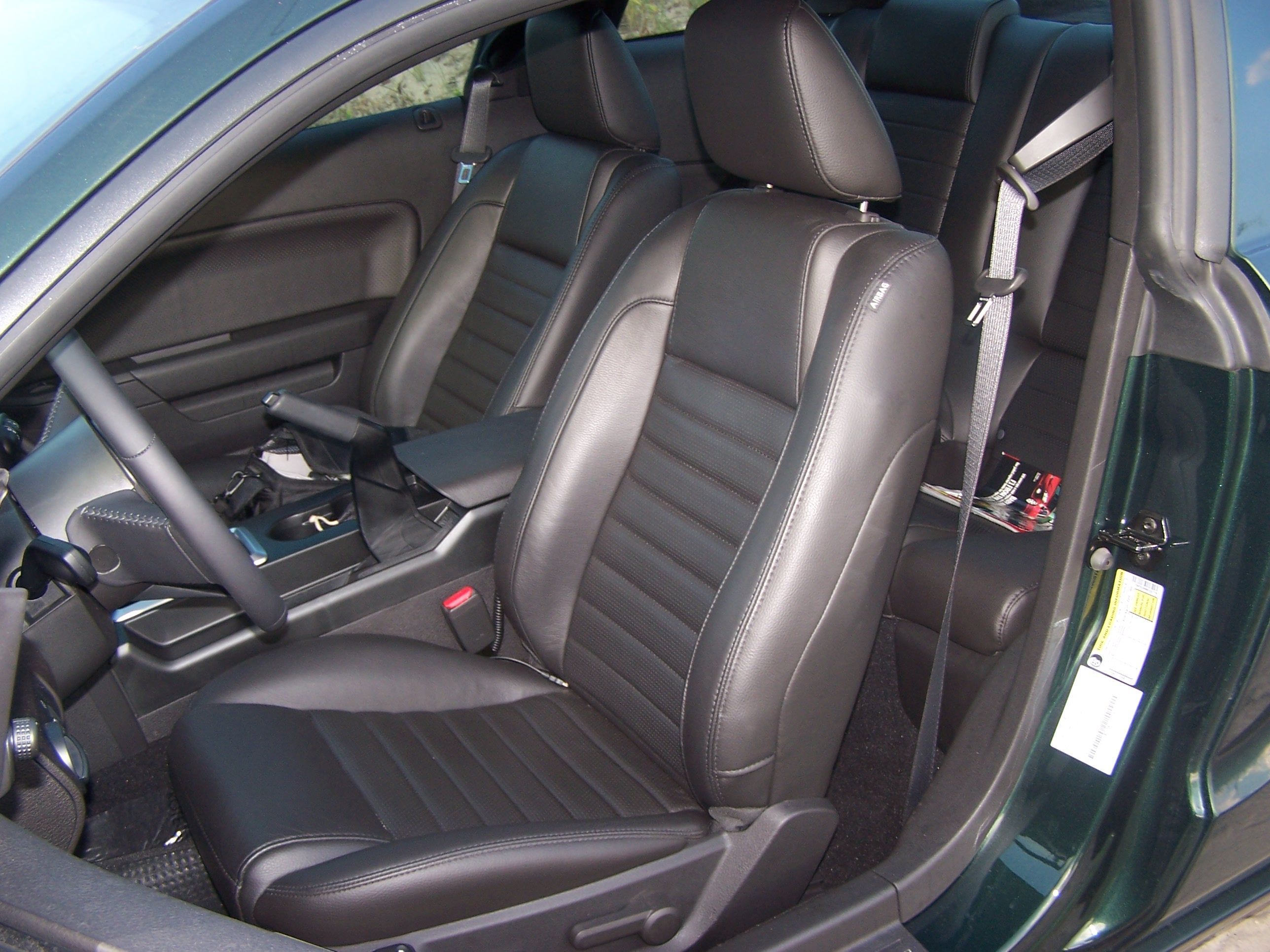 Image Gallery 2010 Mustang Seats