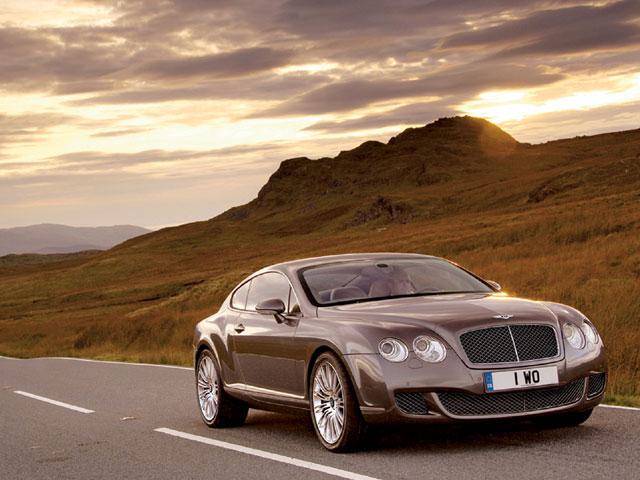 Bentley Continental GT Speed Road Photos