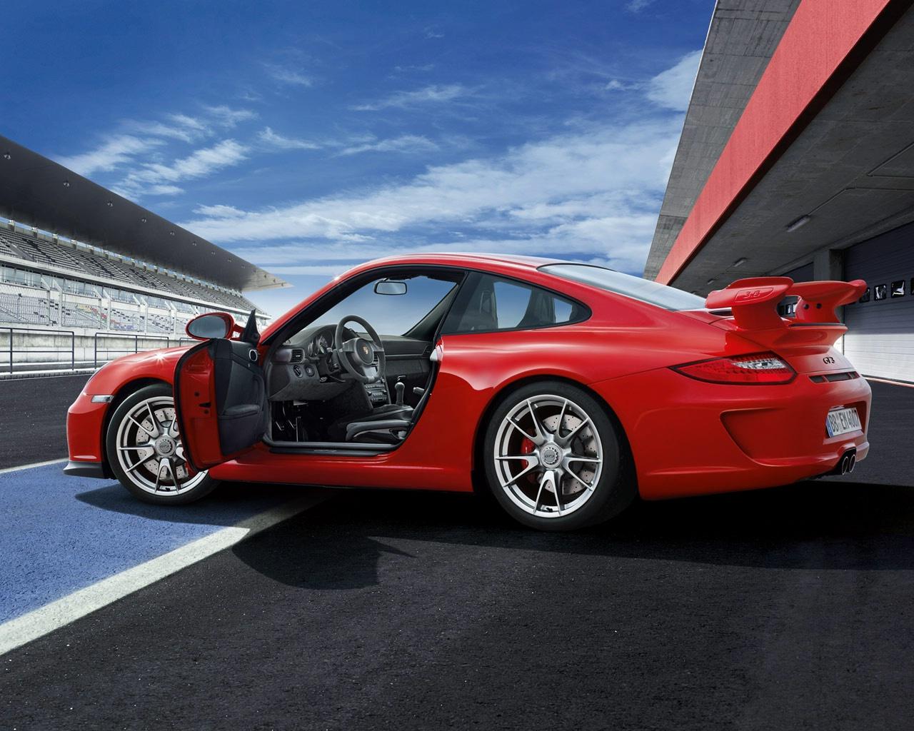 Porsche 911 GT3 View